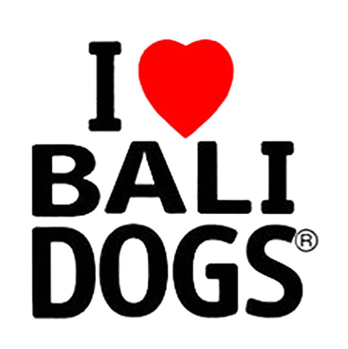 I Love Bali Dogs Logo